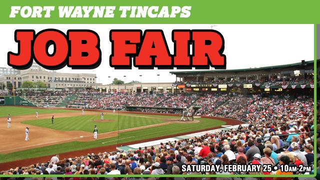 TinCaps To Host Job Fair On Saturday, February 25