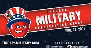 TinCaps Continue Tradition With Military Appreciation Night