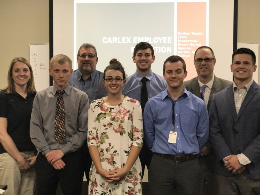 usf students present research to carlex glass ne indiana fort wayne news. Black Bedroom Furniture Sets. Home Design Ideas