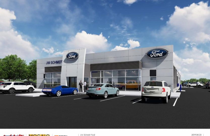 mosaic building solutions to manage construction of jim schmidt auto location in hicksville fort wayne ne indiana news jim schmidt auto location in hicksville