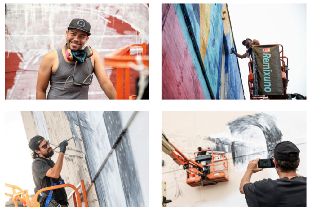 Make It Your Own Mural Fest Enters Final Week of Mural Installations